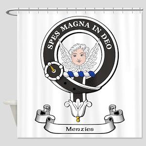 Badge-Menzies [Aberdeen] Shower Curtain
